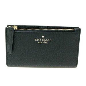 Kate Spade Jackson Small Slim Bifold Wallet Black